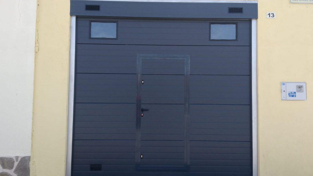 Instalación puertas seccionales